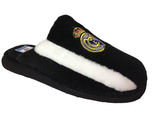 Zapatilla casa Real Madrid negra