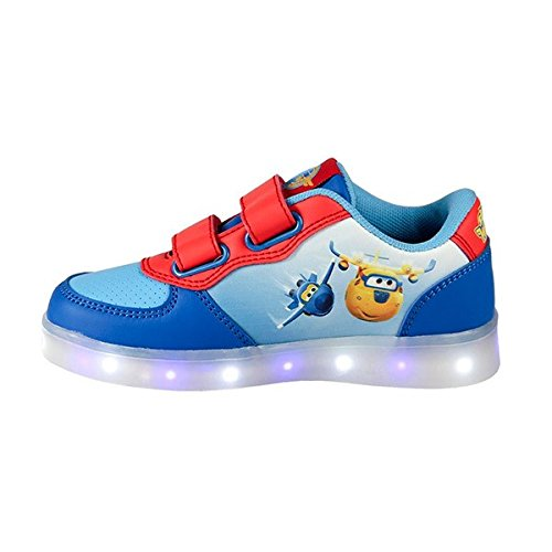 Scarpe sportive con led super wings (1000036042)
