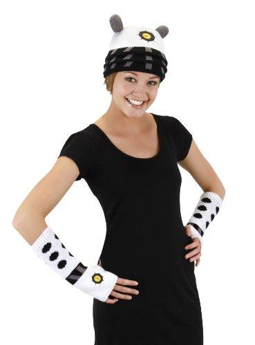 elope Dr. Who Dalek Knit Arm Warmers White -