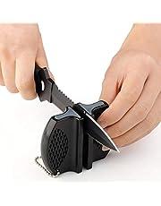 Beauty * Top * púas Camp bolsillo de cerámica cuchillo de cocina Afilador de Herramientas de acero de tungsteno de Rod