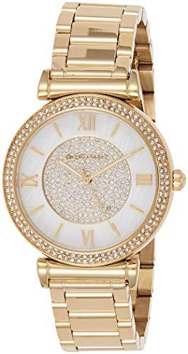 Michael Kors Women's Catlin Gold-Tone Watch MK3332
