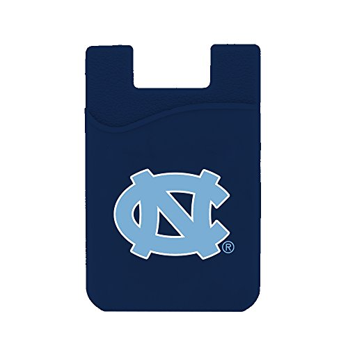 (Guard Dog Card Keeper/Card Holder Silicone Phone Wallet (North Carolina Tar Heels))