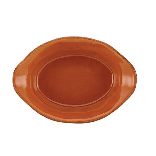 Pemberly Row Stoneware 12 Oz. Baking Dish in Pumpkin Orange by Pemberly Row (Image #3)