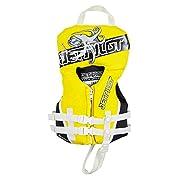 JetPilot Infant U.S Coast Guard Approved PFD Life Vest, Yellow
