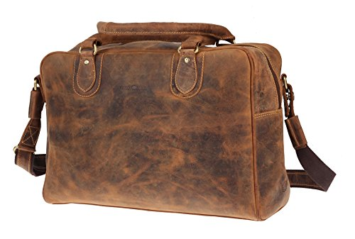 Greenburry Vintage Borsa a tracolla pelle 40 cm