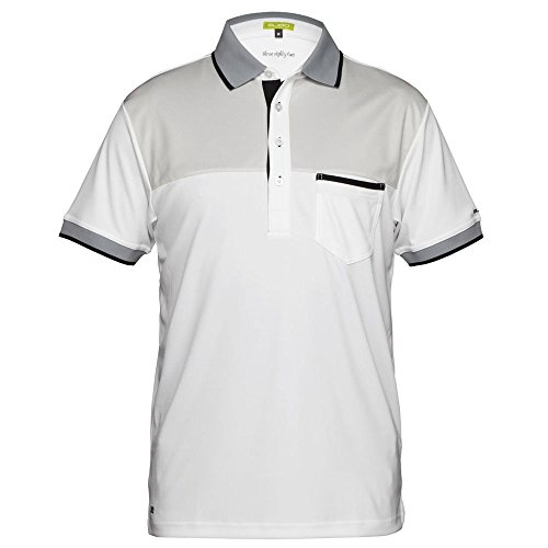 Sligo Men's SL16A302 Shirt, White, (Sligo Golf)