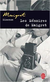 Les Mémoires de Maigret par Simenon