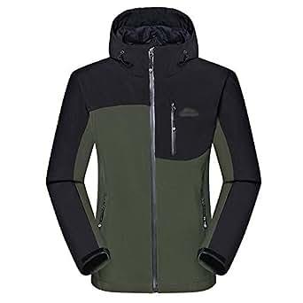 Amazon.com: KINDOYO Men's Winter Coat-Waterproof Warm