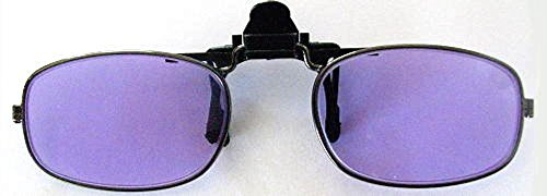 Devardi Glass Didymium Clip-On Flip-up Safety Glasses for Lampwork, Beadmaking PT-3
