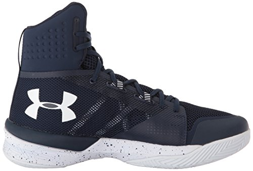 Navy Women's Midnight Volleyball Highlight Armour Ace White Shoe Under 410 5SO0wvqCO