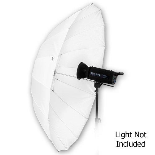 "Fotodiox Pro 16-rib, 60"" Shoot-Through Neutral White Diffusion Parabolic Umbrella"