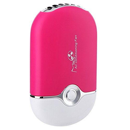 Sammid Mini USB Personal Fan,Travel Cooler Cute Fans,for Home Outdoor Travel - Pink by Sammid