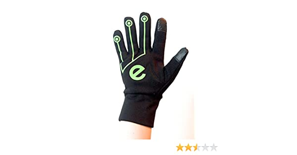 EGlove XTREME Black Green (LARGE) Touchscreen Fleece Gloves for Smartphone / Touchscreen Operation by eGlove: Amazon.es: Deportes y aire libre
