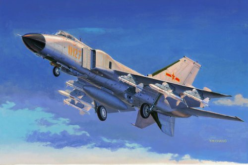 Trumpeter Chinese J-8F Finback Fighter Model Kit (1/48 (8 Holding Tank)