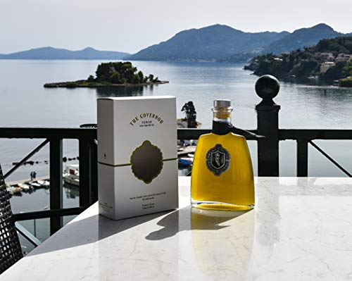 The Governor, Premium Unfiltered Extra Virgin Olive Oil | Olive Oil Polyphenols with Robust Health-Giving Properties | Cold-Pressed Olive Oil | Luxury Glass Bottle 500ml by The Governor (Image #4)