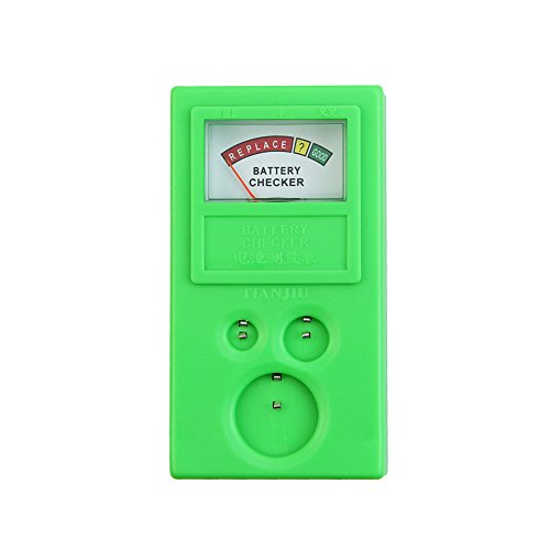 Kocome LR44 CR2032 CR2025 Watch Repair Button Cell Battery Power Tester Test Checker