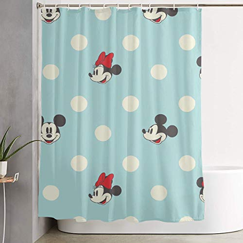 WSXEDC Shower Curtain Mickey Mouse Waterproof Curtain 60 X 72 - Curtain Shower Mickey