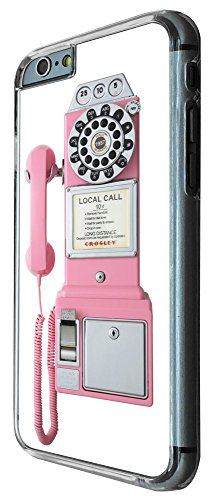 352 - Cool Fun Pink Call Box Design iphone 6 6S 4.7'' Coque Fashion Trend Case Coque Protection Cover plastique et métal