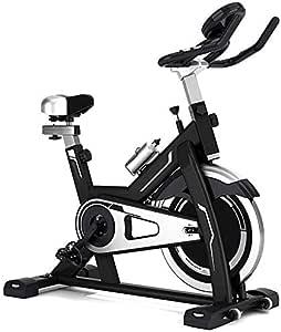 LSYOA Interior Bicicleta Estática, Bicicleta Spinning Exercise ...