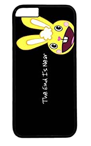 Funny Rabbit Thanksgiving Easter PC Black Case for Masterpiece Limited Design iphone 6 by Cases & Mousepads