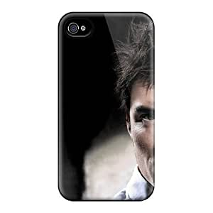 Excellent Design Orlando Bloom Actor Man Person Brunette Hair Disheveled Eyes Phone Case For Iphone 4/4s Premium Tpu Case