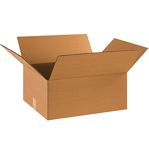 "Partners Brand P18148 Corrugated Boxes, 18"" L x 14"" W x 8"" H, Kraft (Pack of 20) from Partners Brand"