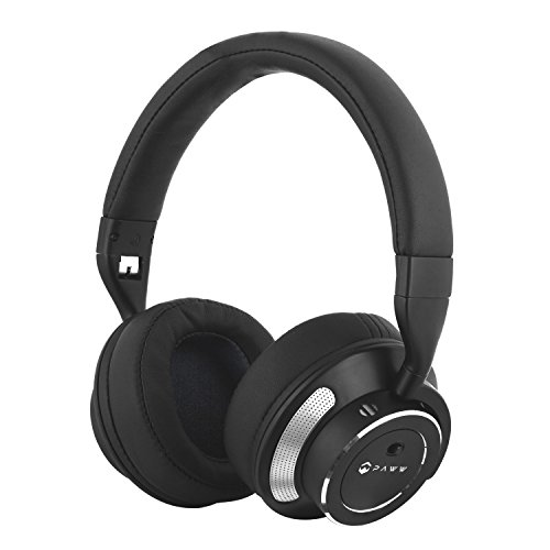paww wavesound 3 bluetooth headphones active noise cancelling headphones with airplane adapter. Black Bedroom Furniture Sets. Home Design Ideas
