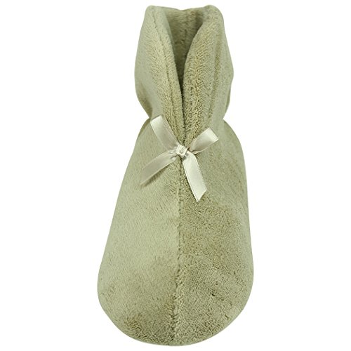 Home Slipper Womens Warm Indoor Slippers Coral Velvet Winter Boots Non Slip House Shoes Beige xYLHt2TXXm