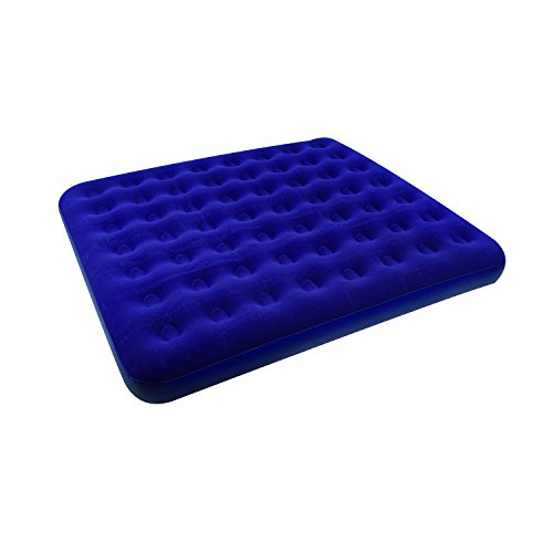 Stansport Deluxe King Size Air Bed, Blue - 80