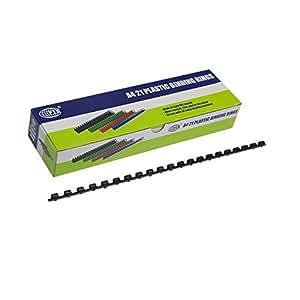 FIS 50 mm Plastic Binding Rings 480 Sheets - FSBD50BK
