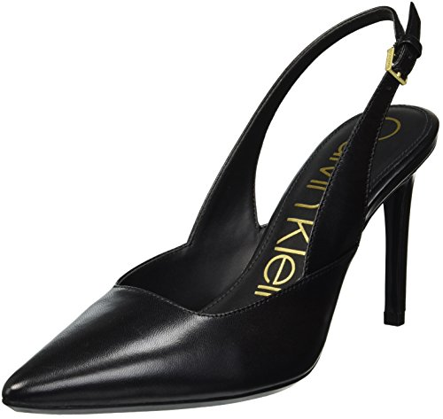 Calvin Klein Women's Rielle Pump, Black, 8 Medium US