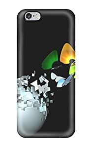 New Arrival Butterfly 3d For Iphone 6 Plus Case Cover
