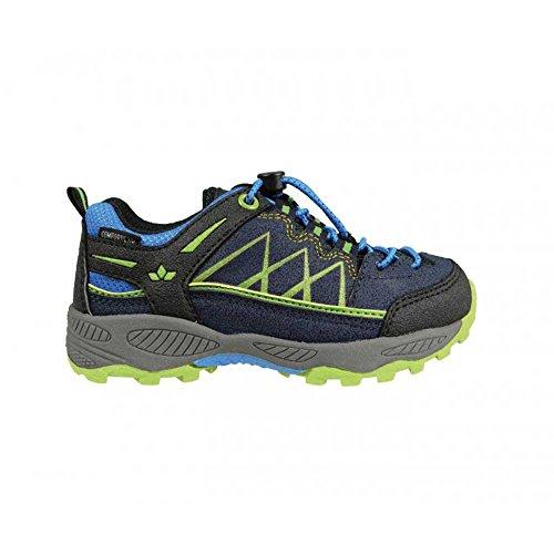 Lico Griffin, Zapatos de Low Rise Senderismo para Niños Marine/Blau/Lemon