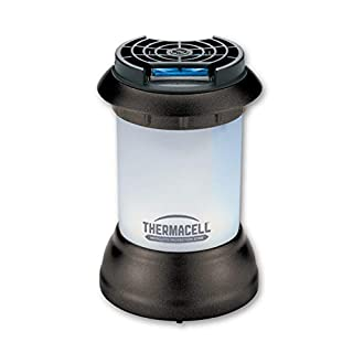 Thermacell Bristol Mosquito Repellent Patio Shield Lantern; Lantern Light Plus Silent, Scent-Free Mosquito Repellent Providing 15-Foot Zone of Protection Guarantee