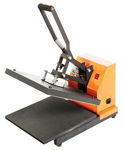 Transferpresse Ricoo T 438 Druckfläche: 38x38cm T-Shirtpresse Thermopresse Textilpresse Bügelpresse für Flockfolien Flexfolien +++ Sublimationspresse