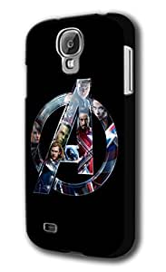 Avengers Age Of Ultron Logo Samsung Galaxy S4 Hard Case Cover