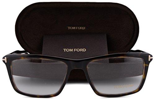 Tom Ford FT5407 Eyeglasses 54-16-145 Dark Havana 052 FT - Tom Collection Eyewear Ford