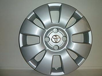 Juego de Tapacubos 4 Corpicerchio Diseño Toyota Yaris Desde 2006 r 15 () Logo Cromado: Amazon.es: Coche y moto