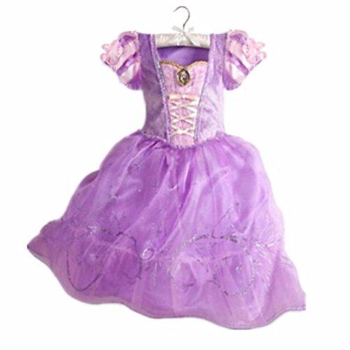 Halloween Princess Dress Costumes - Elsa, Anna, Aurora, Rapunzel, Cinderella and (Cinderella Costume Halloween)