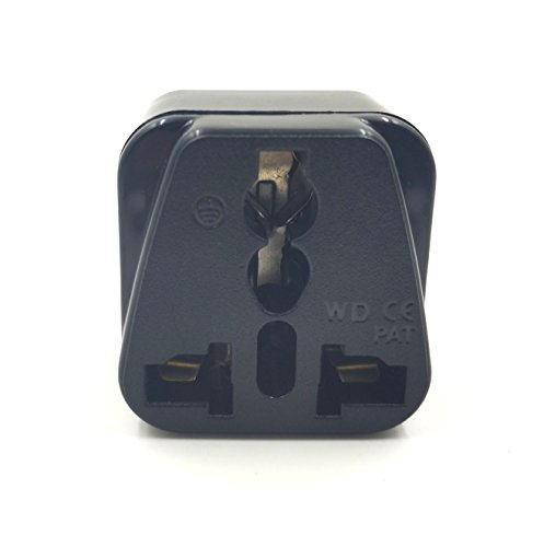 Duttek UPS IEC C14 to Universal Female AU US UK EU C13 Socket Power Adapter AC Plug
