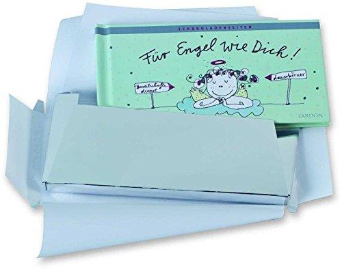 Geschenkidee NEU! Ein außergewöhnliches Geschenk, wie eine edle Tafel verpackt - Für Engel wie Dich - (Schokoladen-Bücher)