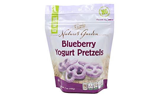 Natural Garden Cibo Vita Blueberry Yogurt Pretzels, 7 oz, Pack of 6