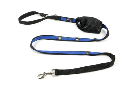 Poochy Pouch (Smoochy Poochy 2Tone Hands-Free Leash - Black Ocean)