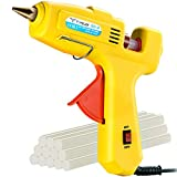 Hot Glue Gun, TopElek 60W/100W Dual Power with 12PCS Sticks, Full Size