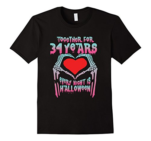 Mens Halloween Costume For Couple. 34th Wedding Anniversary Gifts Small Black