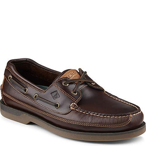 Mako Boat Shoes - Sperry Top-Sider Mako Canoe Moc Boat Shoe Men 10 Amaretto