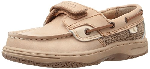 Sperry Bluefish H&L Boat  Shoe ,Linen/Oat,10 M US Toddler