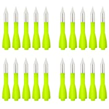 SPEED TRACK 20Pcs Green 3'' 30-100LB Pistol Crossbow Hunt Training Bolt Plastic Sharp Arrows
