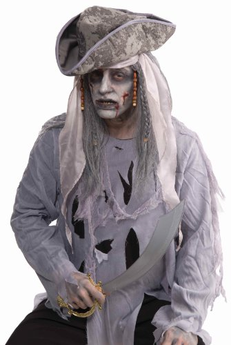 Forum Novelties Zombie Pirate Wig]()