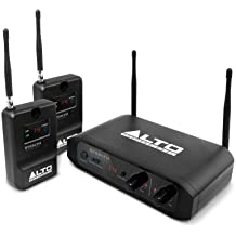 Alto Professional Stealth Wireless   Stereo Wireless System for Active Loudspeakers (Transmitter + 2 Receivers)